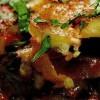 Musaca de cartofi cu ciuperci si măsline
