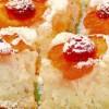 Prăjitură cu vişine şi caise
