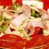 Salată cu şuncă si cas de oaie