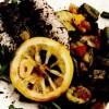 Sardine cu legume şi lămâie