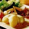 Branză Raclette cu cartofi fierţi