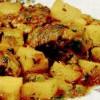 Gulaş de carne cu cartofi si chimen