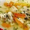 Supă cu zdrenţe din ouă