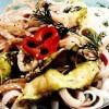Tăiţei de orez cu legume