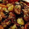 Tocăniţă din pipote de pui si cartofi noi