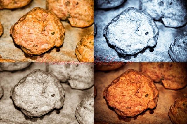 Reteta zilei: Chiftelute la cuptor din carne de pui si vitel