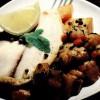 Medalion de peşte cu legume