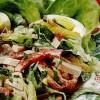 Salată cu parizer, ouă si smantana