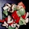 Salată de legume cu sos
