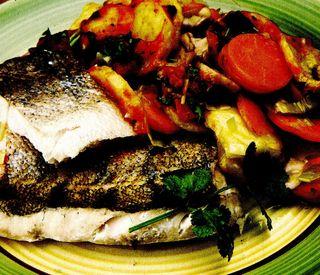 Tocăniţă de cartofi cu peşte