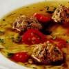 Supă cu perişoare si sos de peste