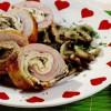 Rulada de porc cu omleta