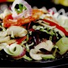 Salata de legume cu ciuperci