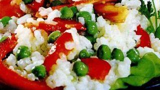 Salata de orez cu piept de pui