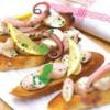 Bruschete caracatiţă