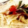 Ravioli cu pere, pecorino şi seminţe de mac