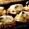 Crostini cu varză, ton şi mozzarella
