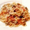 Spaghette cu amestec de fructe de mare