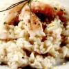 Risotto cu creveţi marinaţi, aromat cu lămâie