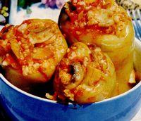 Retete delicioase: Ardei umpluţi cu ciuperci