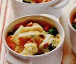 Conopidă şi broccoli sub crustă