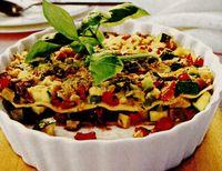 Lasagna delicioasa cu legume