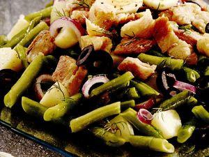 Salată de scrumbie sărată