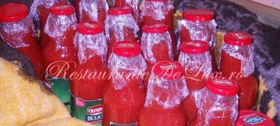 Conserve cu suc de rosii