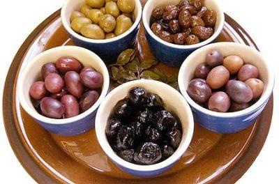 Dovlecei cu măsline