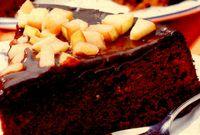 Prăjitură de ciocolată cu pere sau gutui