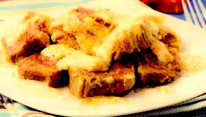 Rasol de vită cu sos de mere si hrean