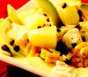 Supă columbiană de pui şi cartofi (Ajiaco)