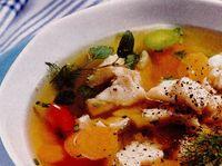 Supă de peşte cu fenicul