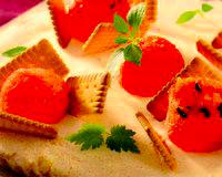 Tarta proaspata cu pepene