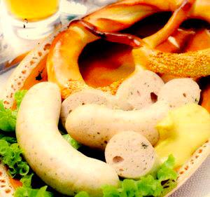 Carnat alb (Weißwurst)