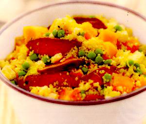 Salată de dovleac cu carne de miel