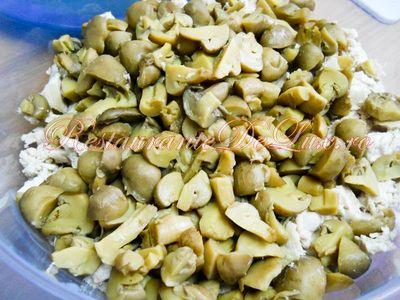 Salata de ciuperci cu sos de lamaie