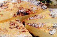 Tartă din brânză si cireşe