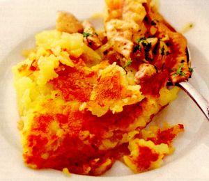 Tochitura cu chiftelute de cartofi