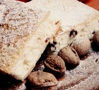 Plăcintă cu brânză si nuci