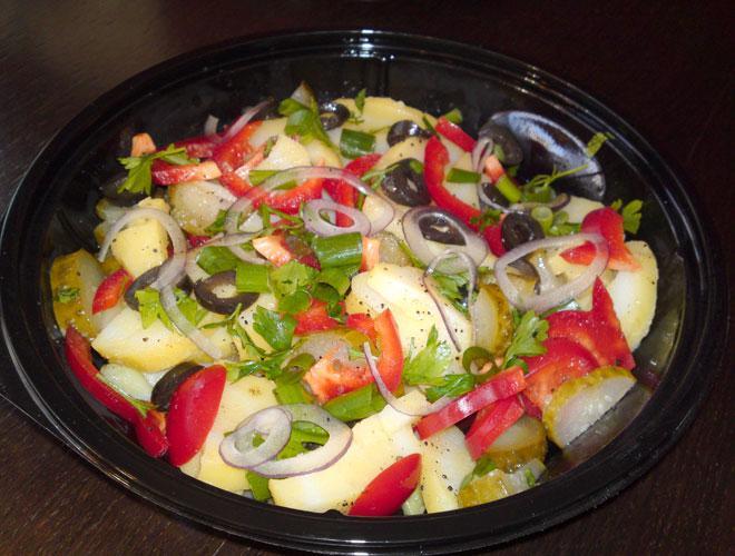 Retete de post: Salata de iarna