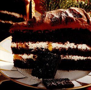 Tort de ciocolata cu crema de smantana