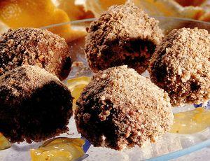 Trufe rafinate în sos de portocale