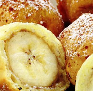 Banane in aluat