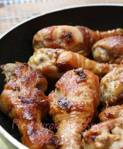 Reteta zilei: Copane de pui cu sos de soya