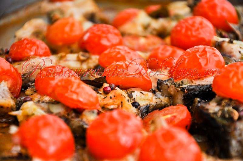 Reteta zilei: Crap cu rosii cherry