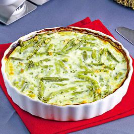 Fasole verde cu sos alb