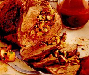 Friptura de vitel umpluta cu ciuperci