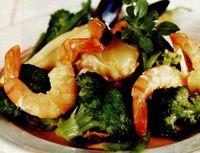 Fructe de mare cu broccoli