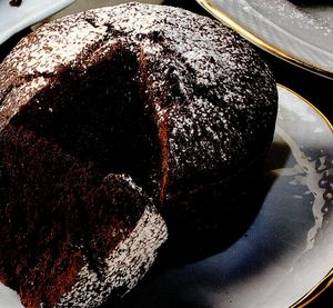 Minisufleuri cu ciocolata